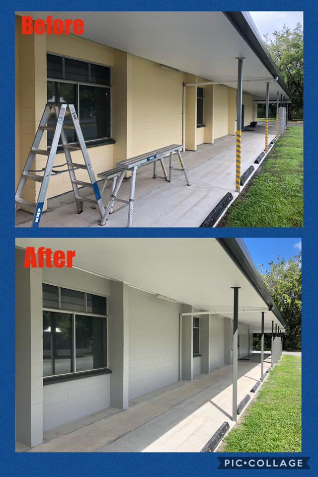 repainting exterior
