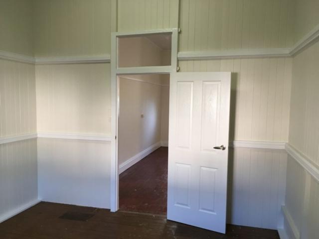 Internal room painted