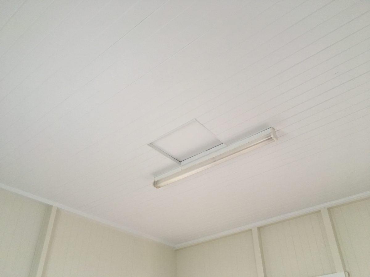 Interior ceiling